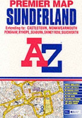 A-Z Premier Map of Sunderland