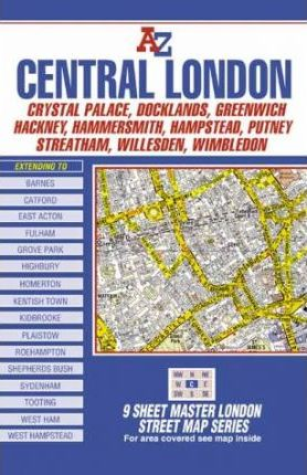 Master Map of Central London