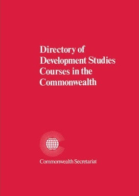Directory of Development Studies Courses in the Commonwealth