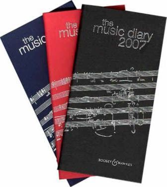 The Boosey and Hawkes Music Diary 2007