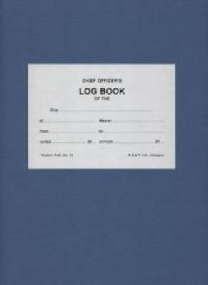 Clutha 16 Log Book: 3 Months, Non-Numbered