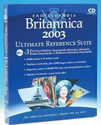 Encyclopaedia Britannica 2003: Ultimate Reference Suite