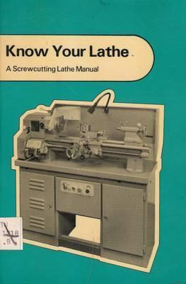 Know Your Lathe