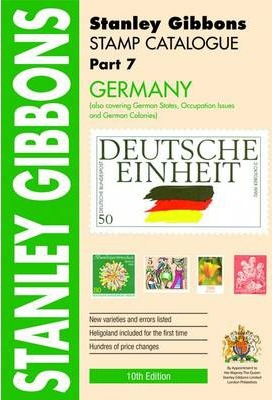 Stamp Catalogue: Germany Also Covering German States, Occupation Issues and German Colonies Part 7
