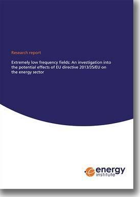 EI Research Report: Extremely Low Frequency Fields: An Investigation into the Potential Effects of EU Directive 2013/35/EU on the Energy Sector