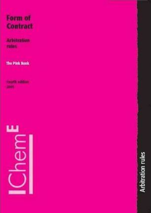 Pink Book, Forms of Contract, Arbitration Rules