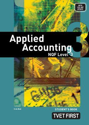 FET first applied accounting: NQF level 3: Student's book