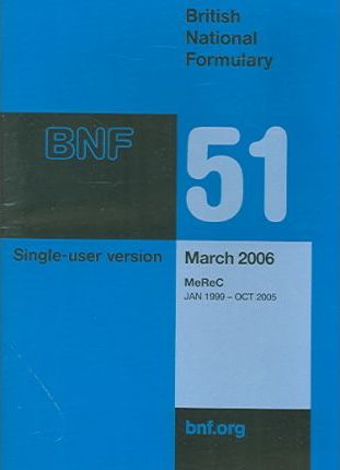 British National Formulary (BNF) 51