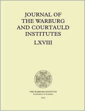 Journal of the Warburg and Courtauld Institutes, v. 68 (2005)