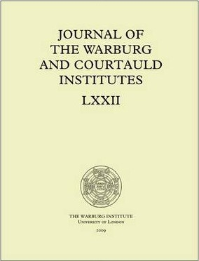 Journal of the Warburg and Courtauld Institutes, v. 72 (2009