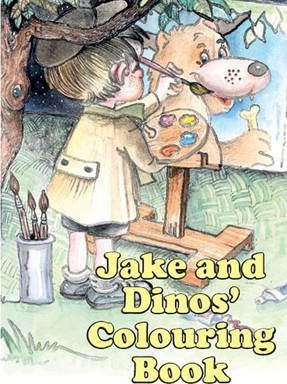 Jake and Dinos' Colouring Book