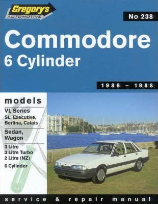 Holden Commodore Vl Series Six Cylinder, 1986-1988
