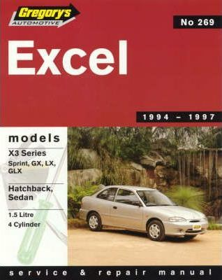 Hyundai Excel 1994-1997 Manual: Book 269
