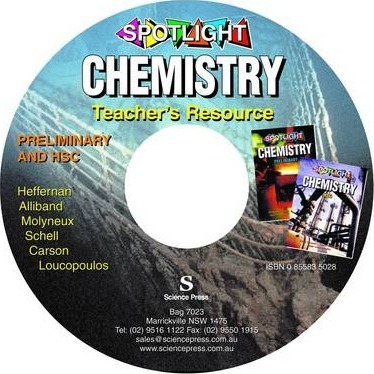 Spotlight Chemistry: Teacher Resource CD