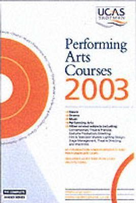 Performing Arts Courses: 2003
