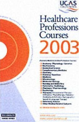 Healthcare Professions Courses: 2003