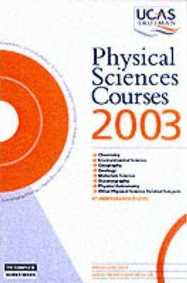 Physical Sciences Courses: 2003