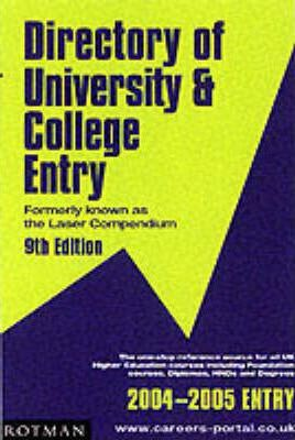 Directory of University and College Entry