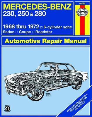 mercedes benz 250 and 280 owner s workshop manual j h haynes rh bookdepository com Echo 280E Garage Door Opener Manuals
