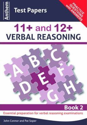 Anthem Test Papers 11+ and 12+ Verbal Reasoning: Book 2