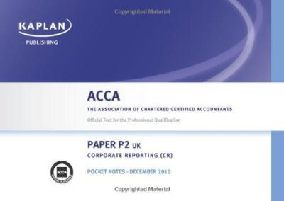 P2 Corporate Reporting CR (UK) - Pocket Notes