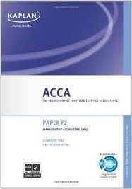 ACCA F2 Management Accounting Ma - Complete Text 2011