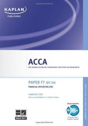 ACCA Financial Reporting Fr (int/uk) - Complete Text 2011