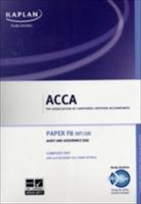 ACCA F8 Audit and Assurance AA (INT/UK) - Complete Text 2011
