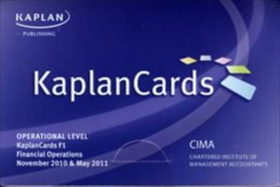 Financial Operations - Kaplancards: Paper F1
