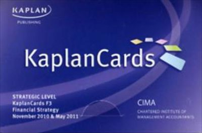 Paper F3 - Financial Strategy - Kaplancards