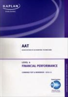 Financial Performance - Combined Text and Workbook