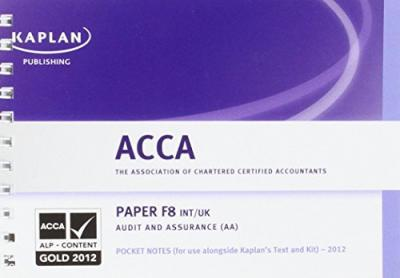 F8 Audit and Assurance AA (INT/UK) - Pocket Notes