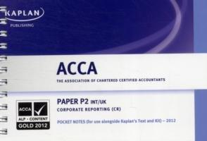 P2 Corporate Reporting CR (INT/UK) - Pocket Notes