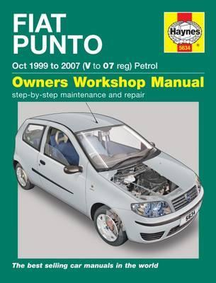 fiat punto petrol oct 99 07 v to 07 john s mead 9780857336347 rh bookdepository com fiat punto 2013 owner's manual fiat punto owners workshop manual