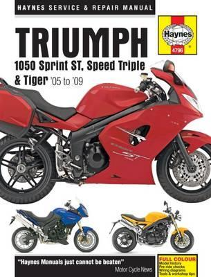 triumph 1050 sprint speed triple tiger haynes publishing rh bookdepository com Speed Triple 1050 1080 Speed Triple 1050 Decals