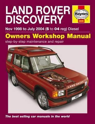 land rover discovery haynes publishing 9780857339515 rh bookdepository com 2000 land rover discovery 2 repair manual 2003 Land Rover Discovery Manual