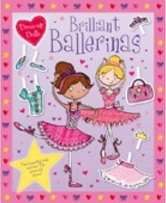Press Out Dolls: Ballerinas