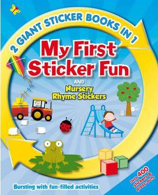 2in1 My First Sticker and Activity