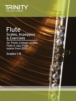 Flute Scales Grades 1-8 from 2015