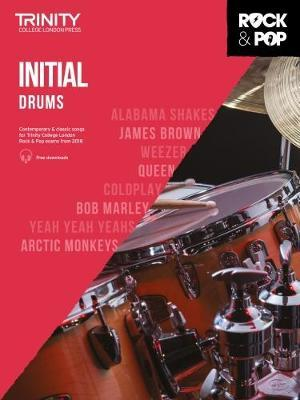 Trinity College London Rock & Pop 2018 Drums Initial Grade CD Only