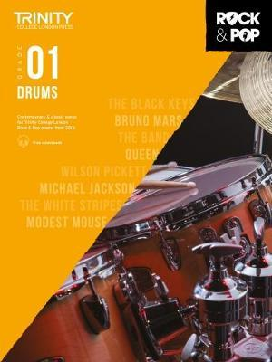Trinity College London Rock & Pop 2018 Drums Grade 1 CD Only