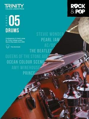 Trinity College London Rock & Pop 2018 Drums Grade 5 CD Only