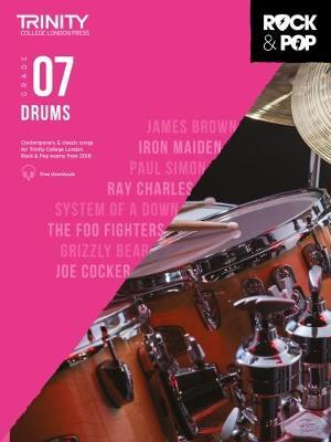 Trinity College London Rock & Pop 2018 Drums Grade 7 CD Only