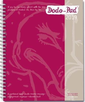 dodo pad desk diary 2019 calendar year week to view diary