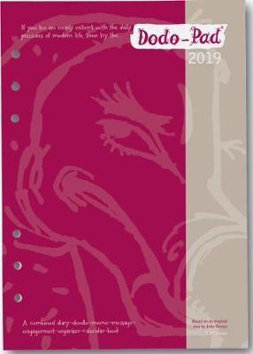 Dodo Pad Filofax-Compatible 2019 A5 Refill Diary - Week to View Calendar Year : A Combined Family Diary-Doodle-Message-Engagement-Organiser with room for up to 5 people's appointments/activities
