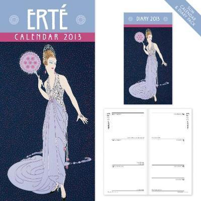 Erte slim calendar and diary pack 2013