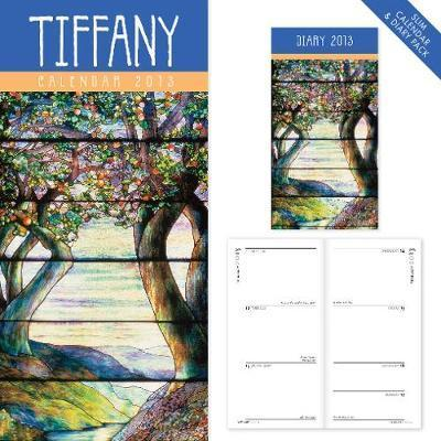 Tiffany slim calendar and diary pack 2013