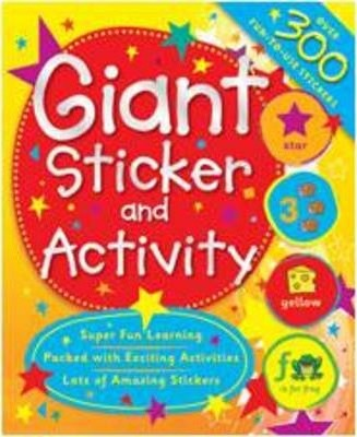 My Giant First Learning Sticker and Activity Book