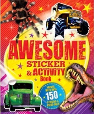 My Giant Awesome Sticker and Activity Book