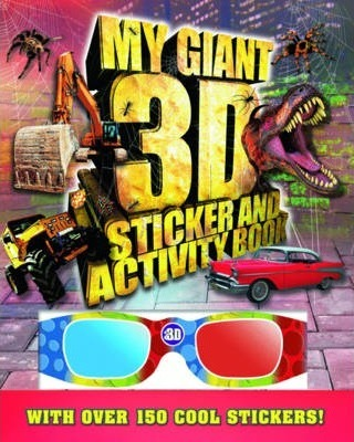 Giant 3D Sticker and Activity Book